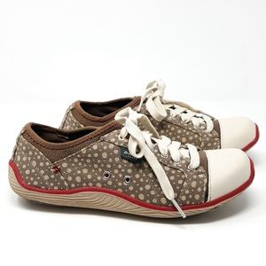 Dr. Scholls | Brown Polka Dot Jaime Sneakers